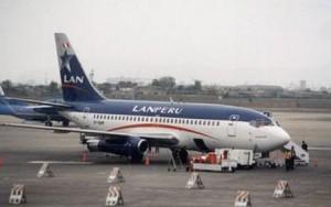 Avión Aerolínea Lan Perú