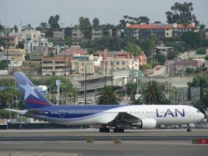 Avión Lan Peru, vuelos cancelados