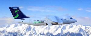 Avión  Pyrenair  Andorra