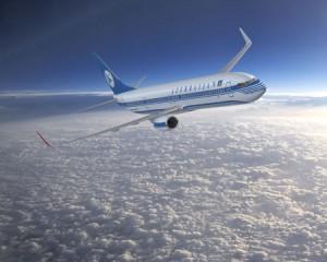 Avion de Azerbaijan Airlines