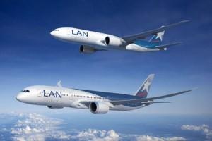 Aviones Lan Airlines