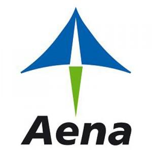 Logo Aena - Aeropuertos Españoles y Navegación Aérea