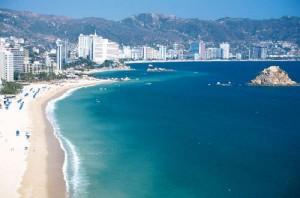 Foto, playa de Acapulco