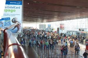 Pasajeros en Aeropuertos