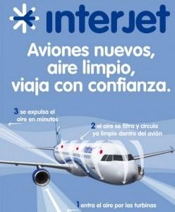 aviones linea aerea interjet