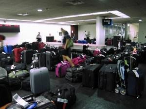 equipajes en aeropuerto