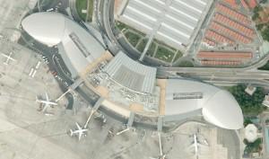 google maps, aeropuerto de Manises