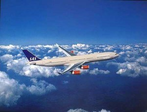 Avión con Internet Scandinavian Airlines