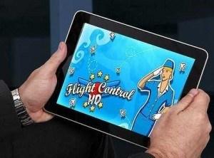 ipad en vuelo