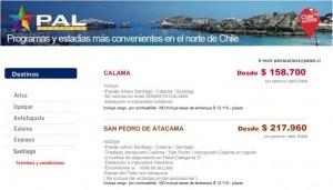 programas pal airlines (vacations)