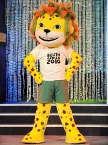 imagen zakumi, mascota sudáfrica 2010